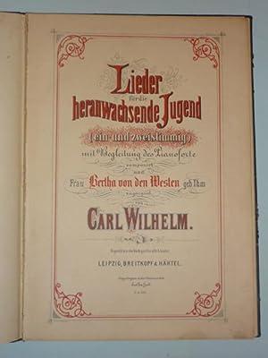 Lieder für die heranwachsende Jugend (ein- und zweistimmig), mit Begleitung des Pianoforte, ...