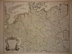 L'Allemagne. Dressée sur les Observations de Tycho-Brahe de Keppler de Snellius (.) sur...