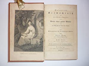 Rosaliens Vermächtnis an ihre Tochter Amanda; oder Worte einer guten Mutter an den Geist und ...