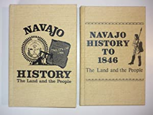 Navajo History. The Land and the People. Navajo History to 1846. 2 Bde.: Acrey, Bill P.