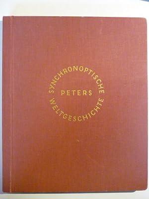 Synchronoptiscche Weltgeschichte.: Peters, Arno und Anneliese.