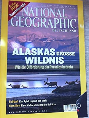 National Geographic Juni 2006 Alaskas grosse Wildnis