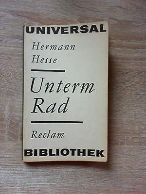 Unterm Rad: Hesse, Hermann: