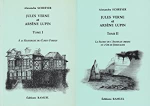 RENNES-LE-CHATEAU - Jules Verne et Arsène Lupin Tome 1 & Tome 2