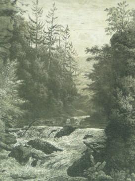 Im Schwarzathal.: Wagner, Carl (1796 Rossdorf/ Rhön -1867 Meiningen),