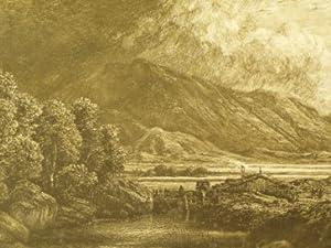 Der Untersberg bei Salzburg.: Wagner, Carl (1796 Rossdorf/ Rh�n -1867 Meiningen),