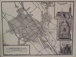 Stadt Kevelar (Niederrhein) mit den berühmten und viel besuchten Wallfahrtsstätten ...