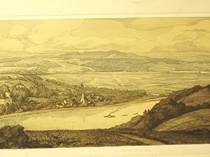 Die Donau bei Persenburg.: Lux, Richard, (1877-1973),