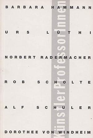 KünstlerProfessorInnen: Georgsdorf, Heiner (
