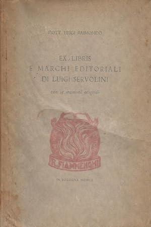 Ex libris e Marchi editoriali di Luigi Servolini: Luigi Raimondo