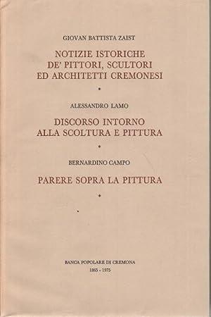 Notizie istoriche de' pittori, scultori ed architetti cremonesi-Il discorso d'Alessandro ...