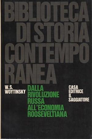 Dalla rivoluzione russa all'economia roosveltiana: W.S. Woytinsky