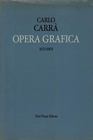 Opera grafica (1922 - 1964): Carlo CarrÃ