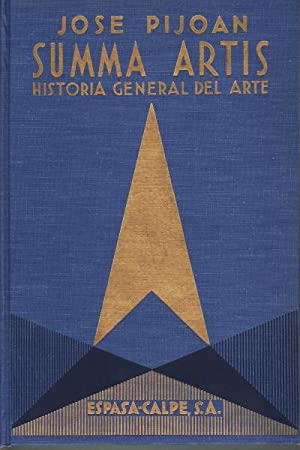 Summa Artis. Historia general del arte. Vol.: Josà Pijoan