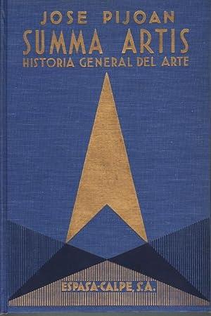 Summa Artis. Historia general del arte. Vol. IV El arte grieco hasta la toma de Corinto por los ...