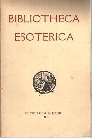Bibliotheca Esoterica Catalogue annotà et illustrà de 6707 ouvrages anciens et ...