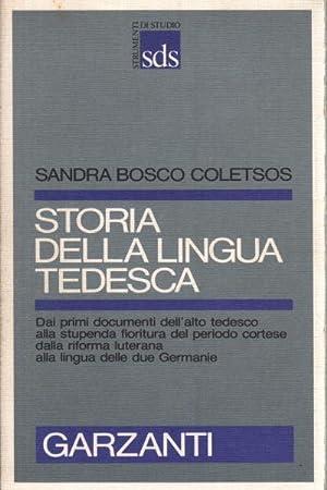 Storia della lingua tedesca: Sandra Bosco Coletsos