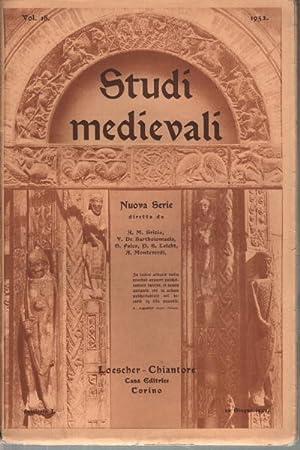 Studi medievali Vol. 18: AA.VV.