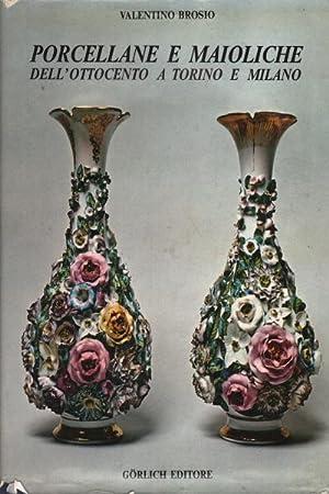 Porcellane e maioliche dell'Ottocento a Torino e Milano: Valentino Brosio