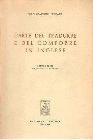 L'arte del tradurre e del comporre in: Gian Giacomo Ferrara