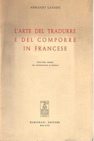 L'arte del tradurre e del comporre in: Armando Landini
