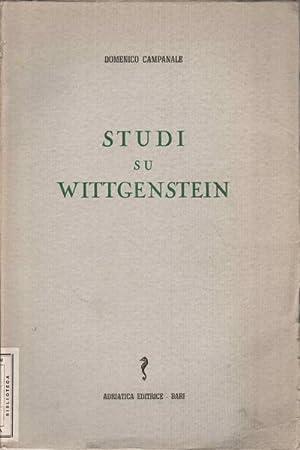 Studi su Wittgenstein: Domenico Campanale