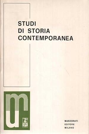 Studi di storia contemporanea Estratto da Â«Nuove: AA.VV.