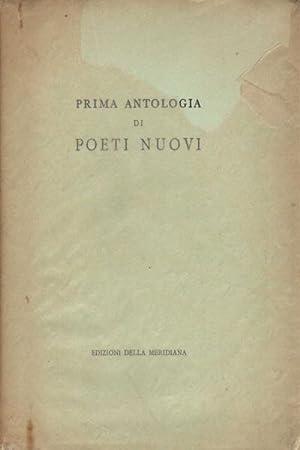 Prima antologia di poeti nuovi: AA.VV.