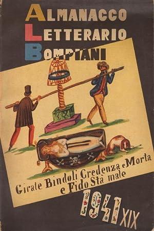 Almanacco Letterario Bompiani 1941: AA.VV.