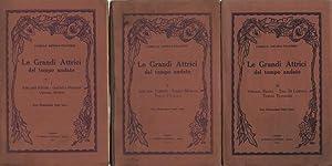 La Grandi Attrici del tempo andato (3 voll.) I: Profili di Adelaide Ristori - Giacinta Pezzana - ...