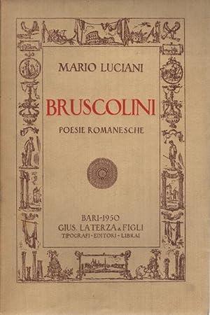 Bruscolini Poesie romanesche: Mario Luciani