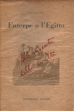 Euterpe o l'Egitto: Erodoto
