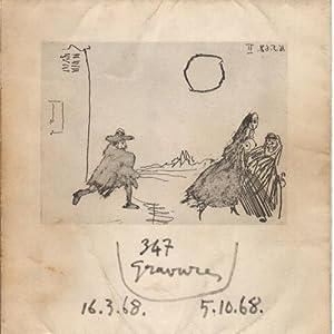 Picasso 347 gravures (16/3/68 - 5/10/68): Aldo Crommelynck, Piero Crommelynck