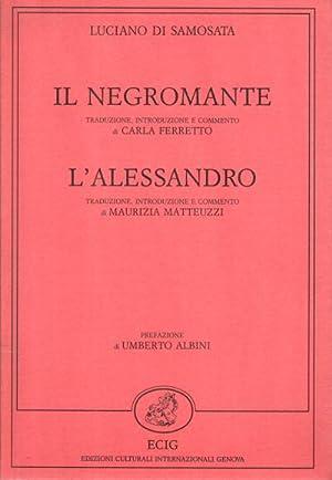 Il Negromante - L'Alessandro: Luciano di Samosata