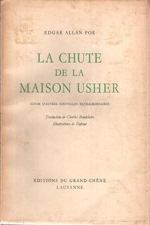 La chute de la maison Usher Suivie: Edgar Allan Poe
