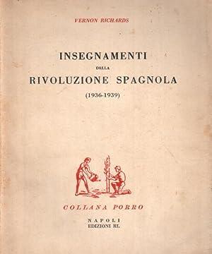 Insegnamenti della Rivoluzione Spagnola (1936-1939): Vernon Richards