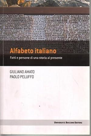 Alfabeto italiano Fatti e persone di una: Giuliano Amato e