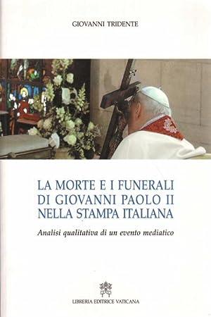 La morte e i funerali di Giovanni: Giovanni Tridente