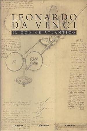 Il codice atlantico della Biblioteca Ambrosiana di: Leonardo da Vinci