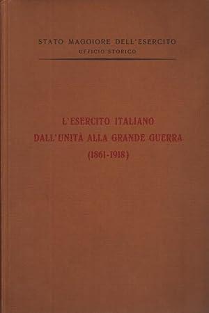 L'esercito italiano dall'Unità alla Grande Guerra (1861-1918): Stato maggiore dell'esercito