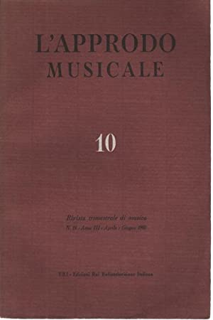L'approdo musicale, n. 10: AA.VV.