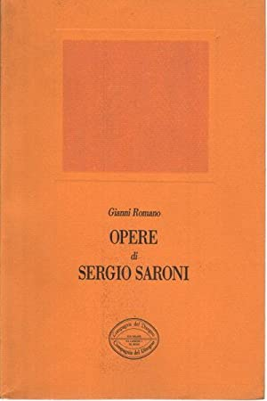 Opere di Sergio Saroni: Gianni Romano