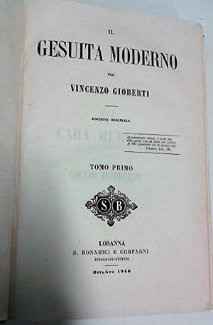 Il Gesuita moderno Edizione originale: Vincenzo Gioberti