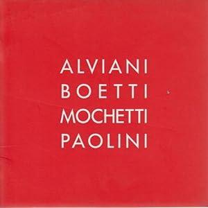 Alviani Boetti Mochetti Paolini: s.a.