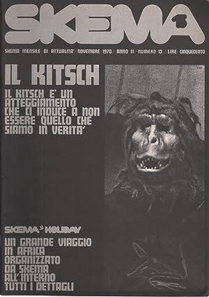Skema N. 13 (Anno II, novembre 1970): AA.VV.