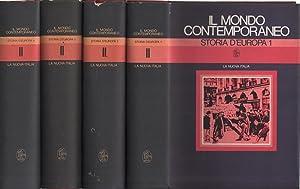 Storia d'Europa (4 volumi): Bruno Bongiovanni, Gian