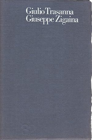 Sette poesie e otto disegni: Giulio Trasanna, Giuseppe