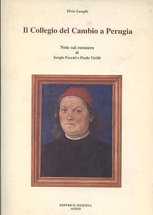 Il Collegio del Cambio a Perugia: Elvio Lunghi