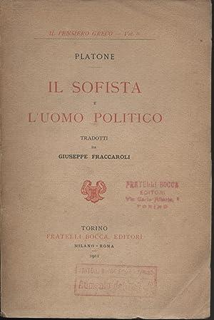 Il sofista e l'uomo politico: Platone
