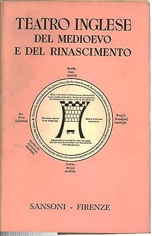 Teatro Inglese del Medioevo e del Rinascimento: Agostino Lombardo